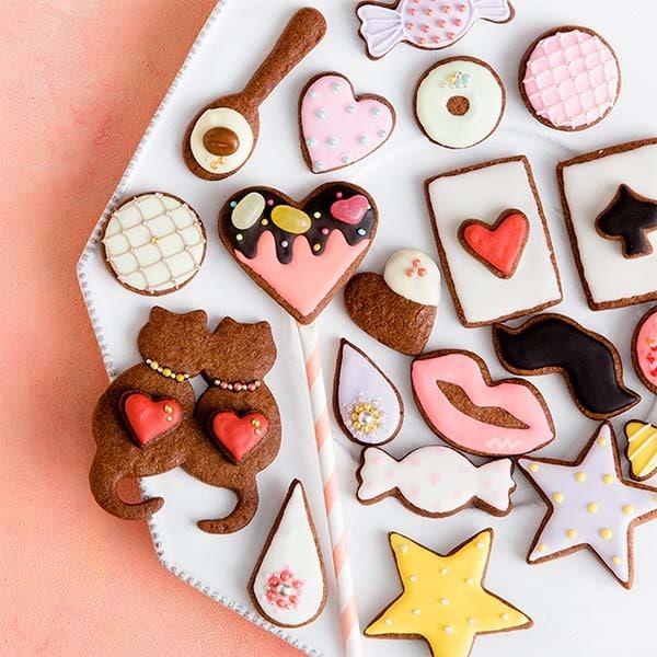 カラフルデコチョコクッキー